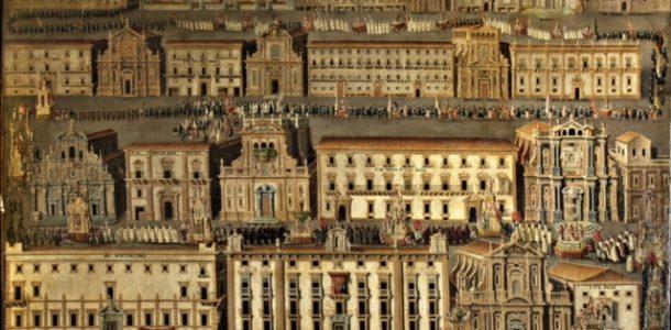 Palermo 1693: il terremoto, Rosalia, la processione
