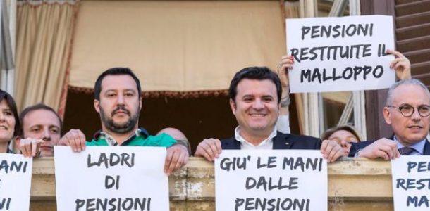 """Il bluff della riforma delle pensioni e della """"quota cento"""""""