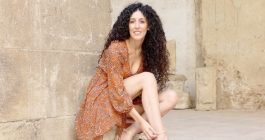Pamela, che incanta con le voci del Brasile
