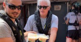 Richard, uomo dei soccorsi a Lampedusa