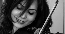 Caterina, l'emozione di un violino alla Scala