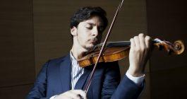 Andrea, primo violino nell'elite della musica