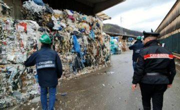 Traffico illecito di rifiuti a Palermo