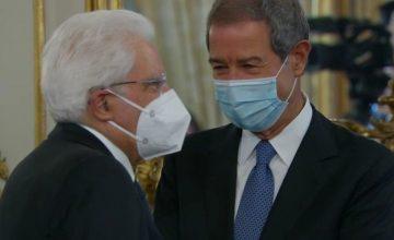 Musumeci incontra il presidente Mattarella