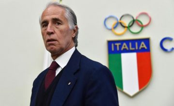 La bandiera italiana alle Olimpiadi
